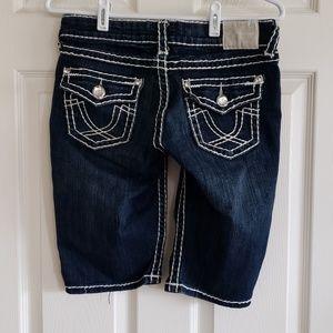 LA Idol long jean shorts size 7